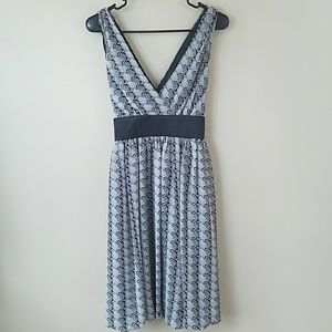 London Times Bubble Hem Dress